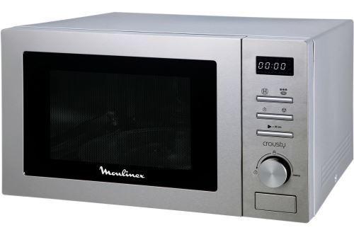 Micro-ondes combiné - Moulinex Crousty MO32ECSL 1000 W Gris