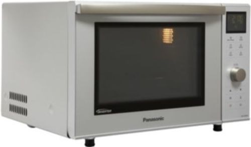 Micro-ondes combiné - Panasonic NN-DF385M (Inox)