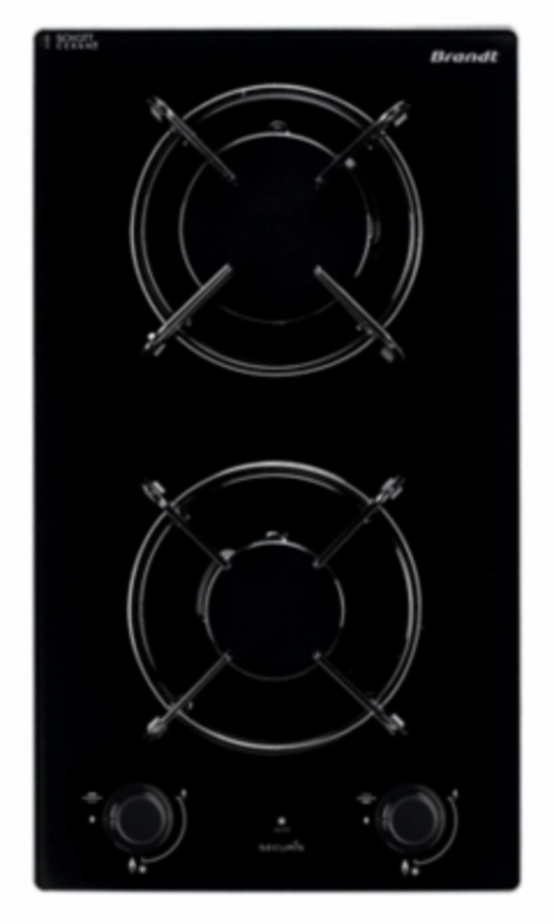 Plaques de cuisson à gaz - BRANDT BPG6210B (BPG 6210 B)