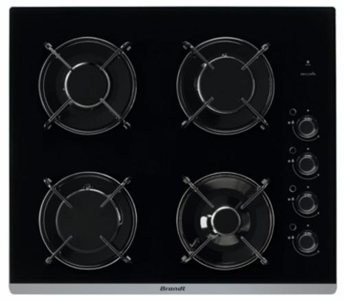 Plaques de cuisson à gaz - BRANDT BPG6413B (BPG 6413 B)