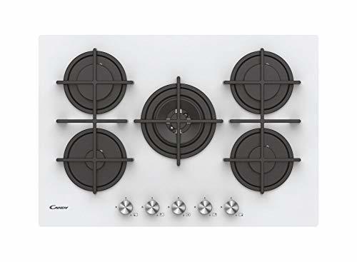 Plaques de cuisson à gaz - CANDY CVG74WPW (CVG 74 WPW)