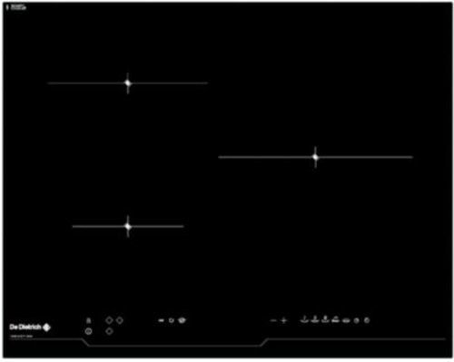 Plaques de cuisson à induction - De Dietrich DTI1116B