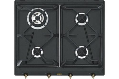 Plaques de cuisson à gaz - SMEG SRV864AOGH (Gris)