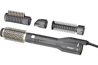 Brosse coiffante - BaByliss AS135E brosse soufflante et fer à lisser Brosse soufflante à air chaud À chaleur Noir 1200 W