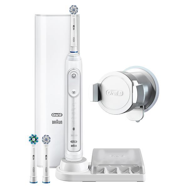 Brosse à dents électrique - Oral-B Genius 8100S Silver par Braun