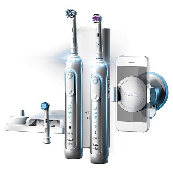 Brosse à dents électrique - Oral-B Genius 8900 Par Braun x2
