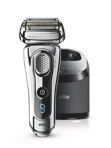 Rasoir électrique pour homme - Braun Series 9 9295cc Wet&Dry + Tondeuse Chrome