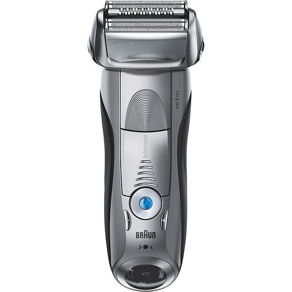 Rasoir électrique pour homme - Braun Series 7 7893s Wet&Dry + Tondeuse Argent