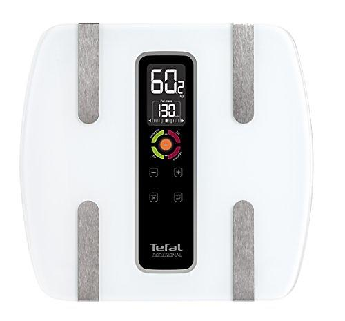 Impédancemètre - Tefal Bodysignal 3 BM7100S6 Pèse-personne électronique Transparent
