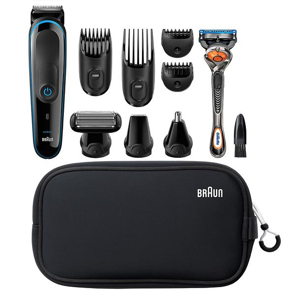 Tondeuse barbe et visage - Braun MGK3980