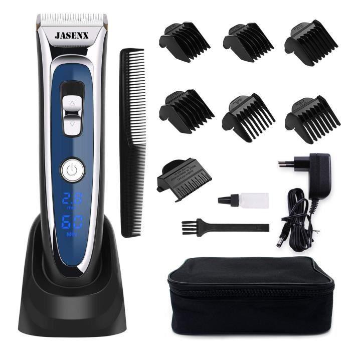 Tondeuse cheveux - Jasenx avec 7 Sabots
