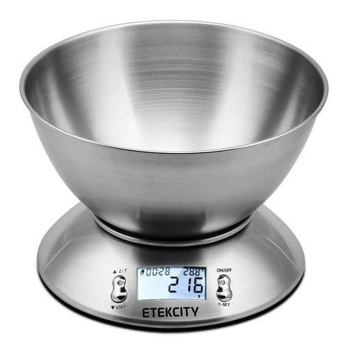 Balance de cuisine - Etekcity 679113381254 Acier inox et bol amovible