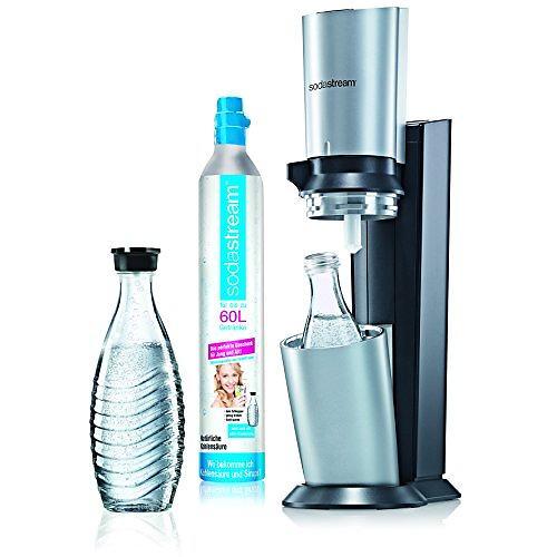 Machine à soda - SodaStream Crystal + 2 bouteilles 0,6L verre