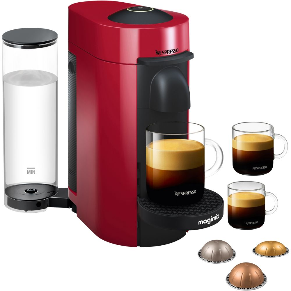 Machine à café à capsules Nespresso - Magimix Nespresso Vertuo Plus