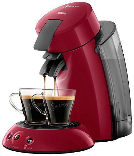 Machine à café à dosettes Senseo - Philips Senseo Original XL HD6555/23 + 2 tasses + détartrant + boîte à dosettes