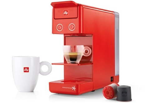 Machine à café - Illy Y3.2 ROUGE