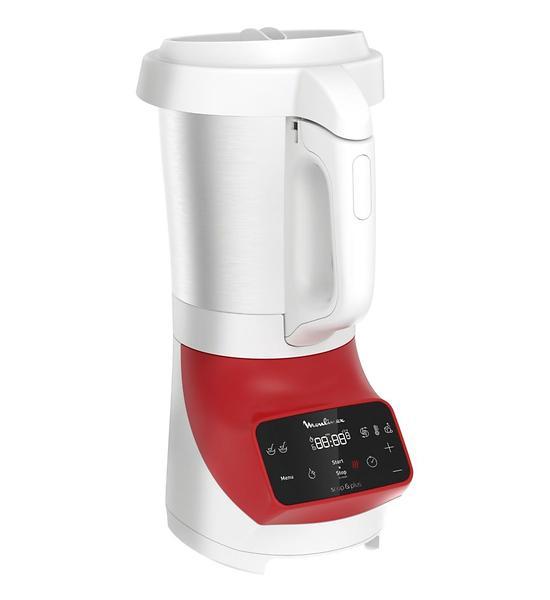 Blender chauffant - Moulinex Soup & Plus Red LM9245