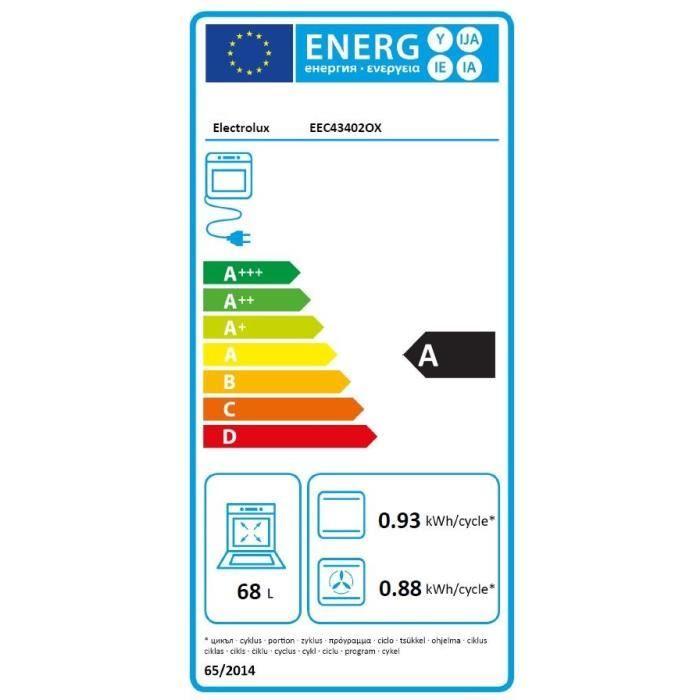 Four électrique encastrable - Electrolux EEC43402OX