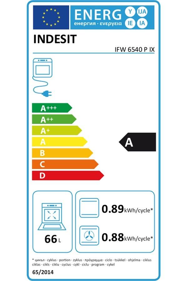 Four électrique encastrable - Indesit IFW 6540 P IX