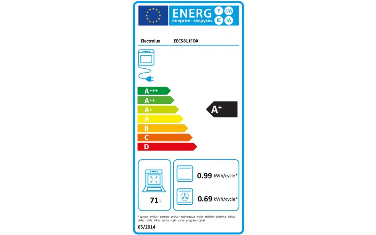 Four électrique encastrable - Electrolux EEC5811FOX