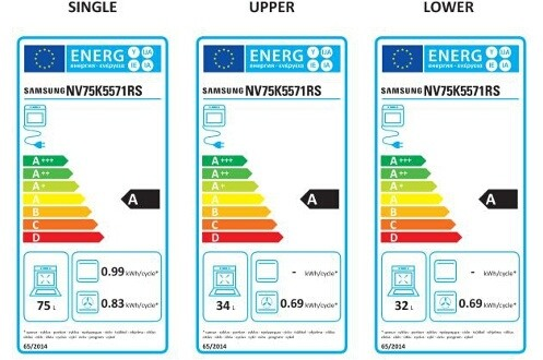 Four électrique encastrable - Samsung NV75K5571RS