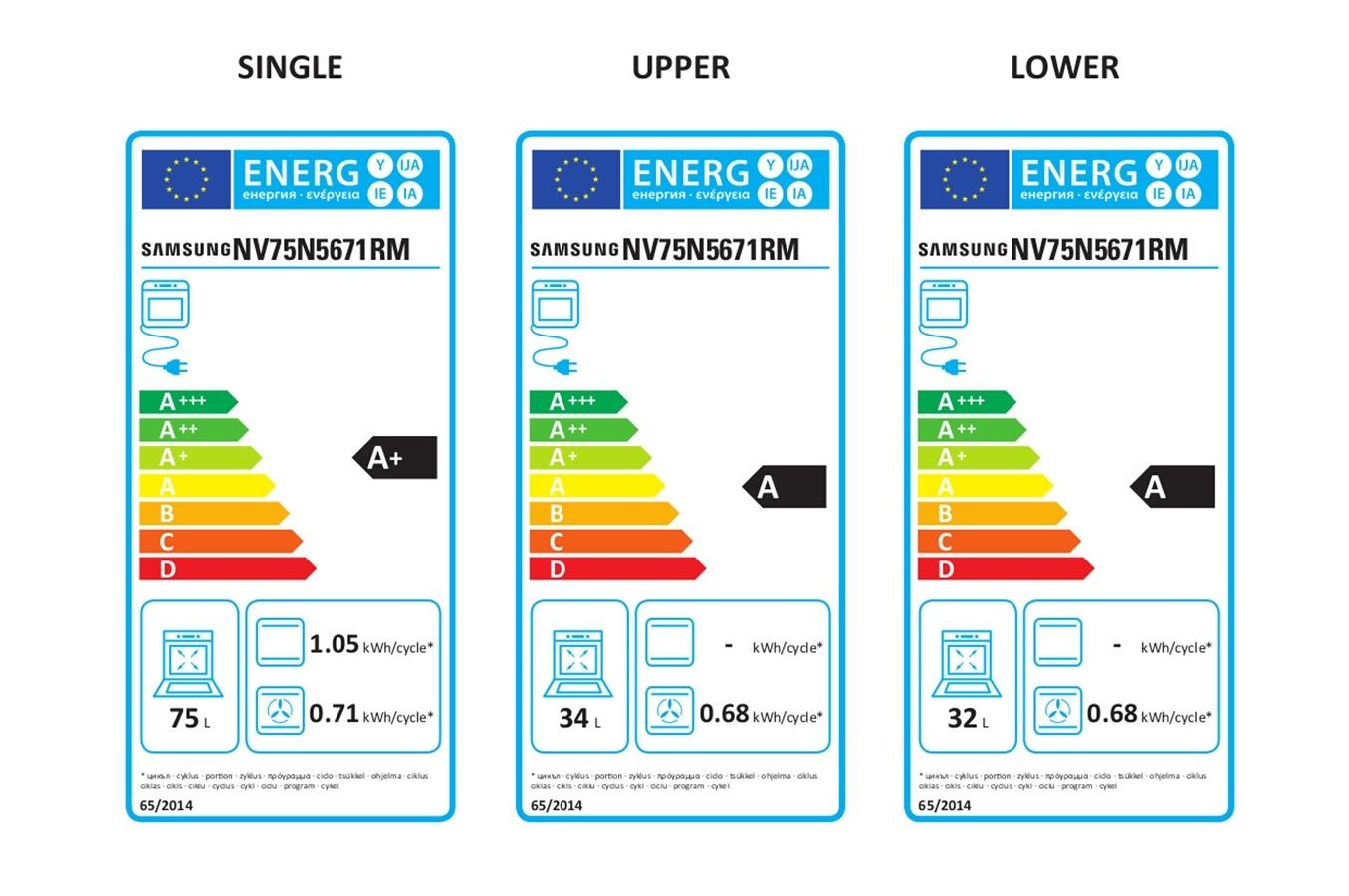 Four électrique encastrable - Samsung NV75N5671RM