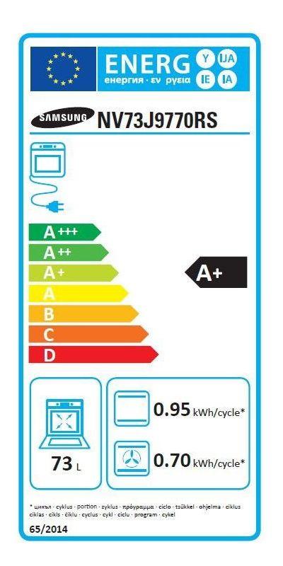 Four électrique encastrable - Samsung NV73J9770RS