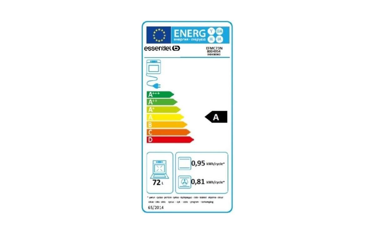 Four électrique encastrable - EssentielB EFMC 73n