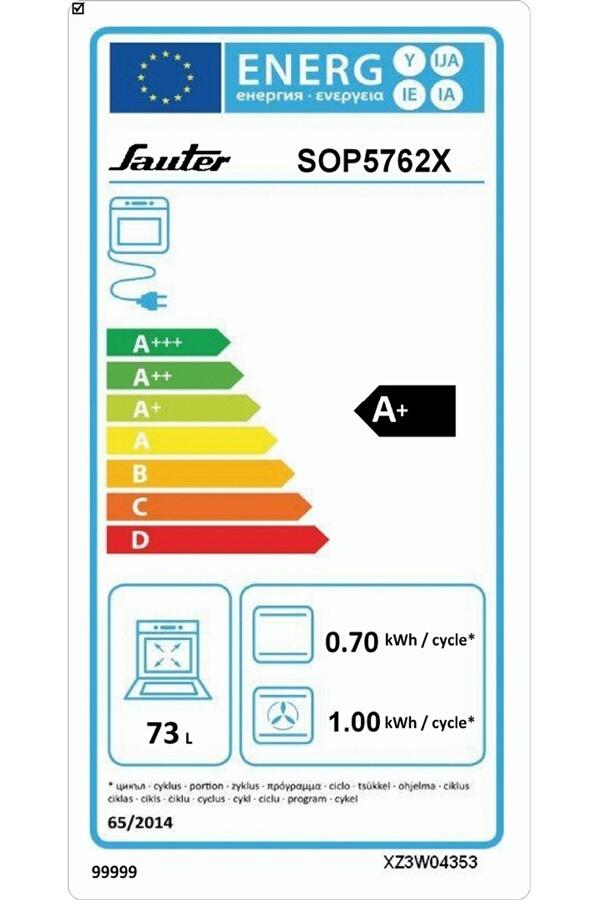 Four électrique encastrable - Sauter SOP5762X