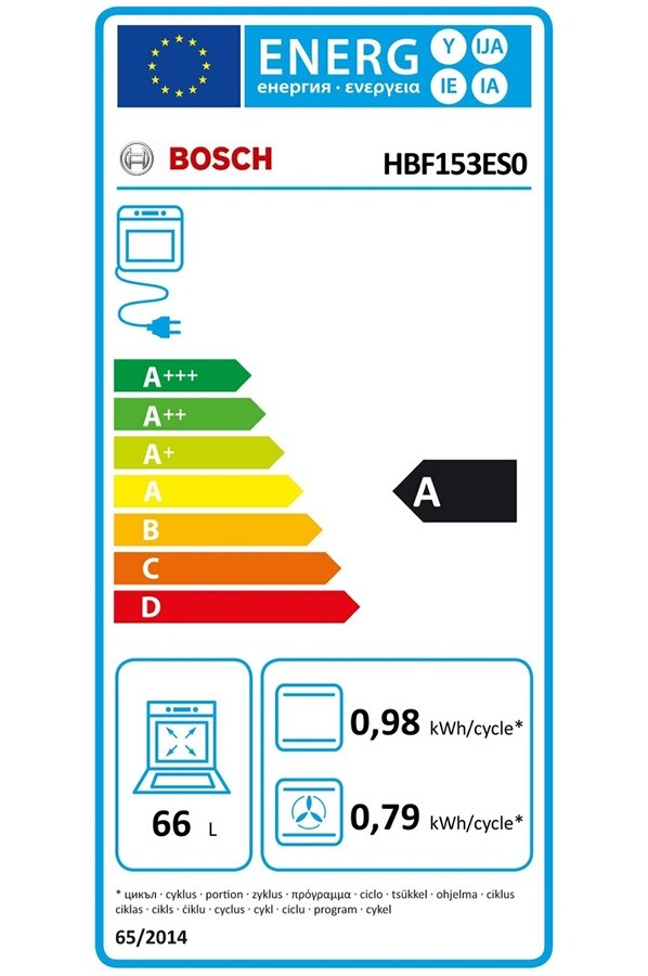 Four électrique encastrable - Bosch HBF153ES0