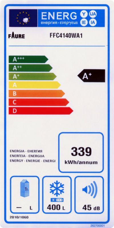 Congélateur coffre - Faure FFC4140WA1