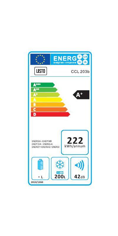 Congélateur coffre - Listo CCL 203b