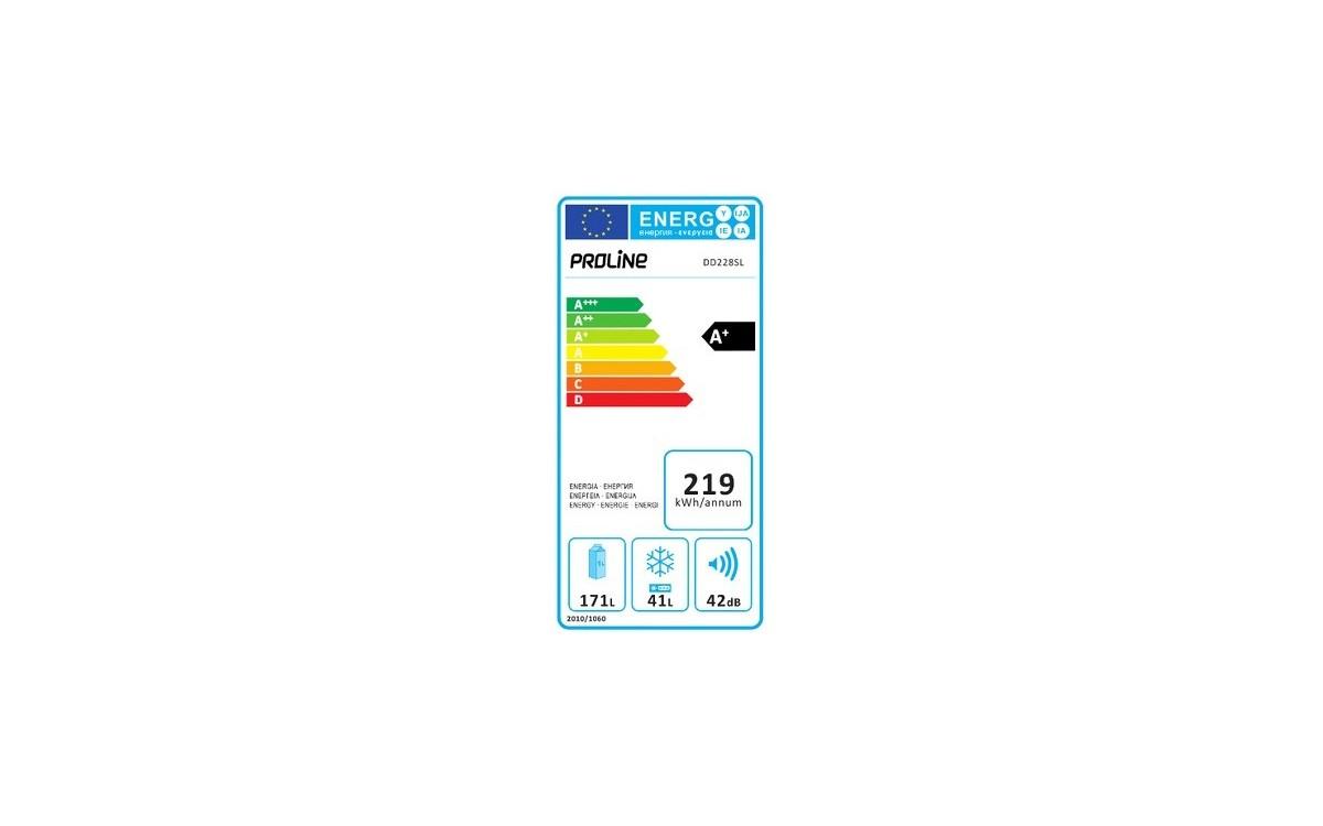Réfrigérateurs congélateurs (combinés et 2 portes) - ProLine DD228SL