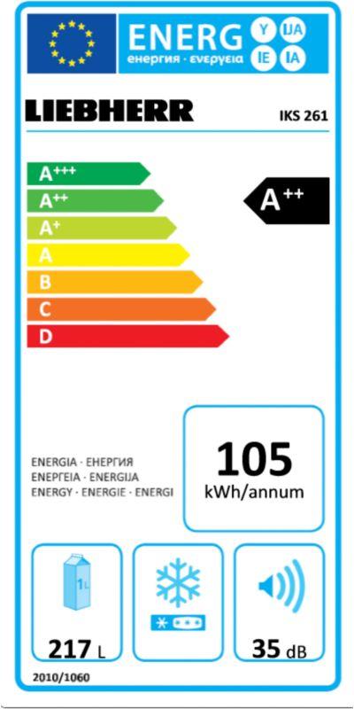 Réfrigérateur encastrable - Liebherr IKS 261