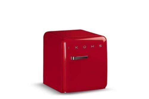 Réfrigérateur top / mini - IKOHS Retro Fridge 50 rouge