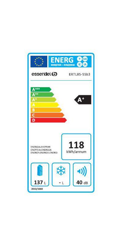 Réfrigérateur top / mini - EssentielB ERTL 85-55b3