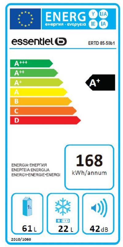 Réfrigérateur top / mini - EssentielB ERTD 85-50b1