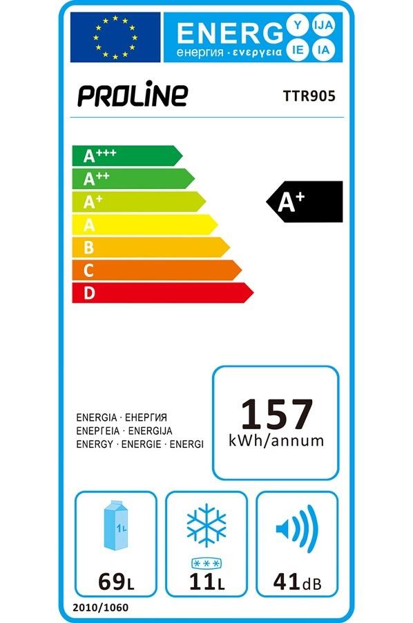 Réfrigérateur top / mini - ProLine TTR905