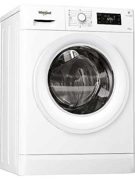 Lave-linge séchant - Whirlpool FWDG86148W