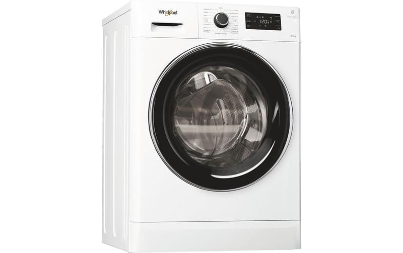Lave-linge séchant - Whirlpool FWDG97168BXFR