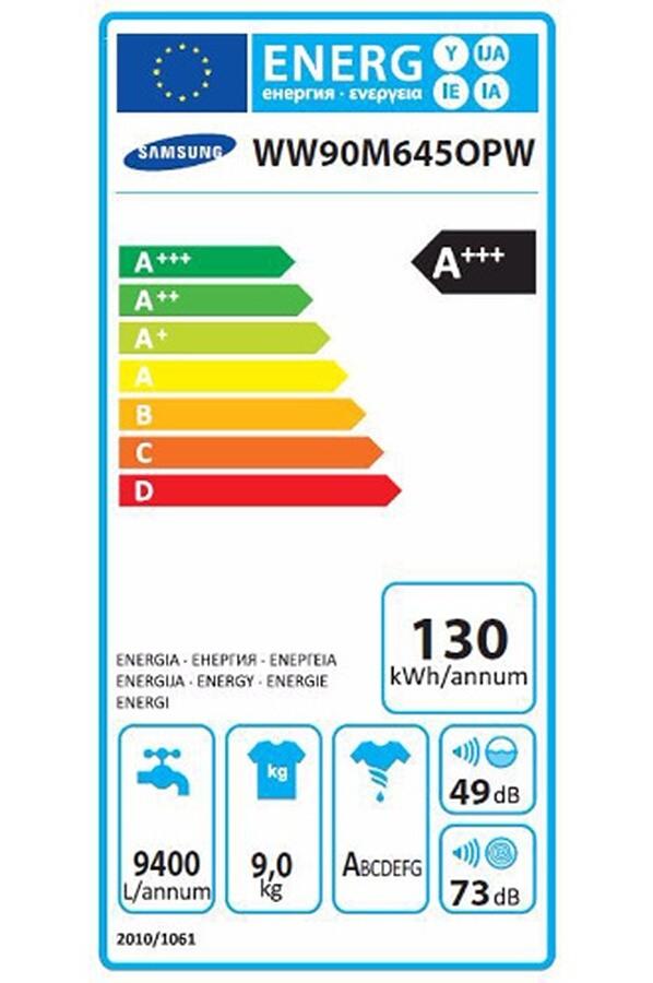 Lave-linge hublot - Samsung WW90M645OPW