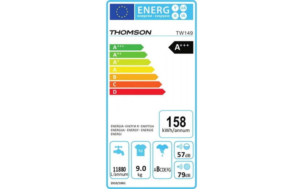 Lave-linge hublot - Thomson TW149