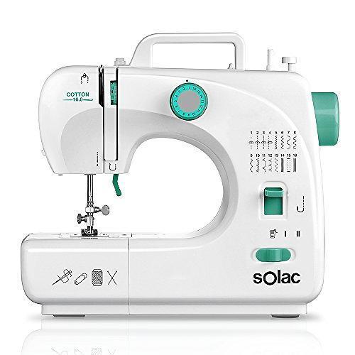 Machine à coudre - Solac Cotton 16.0