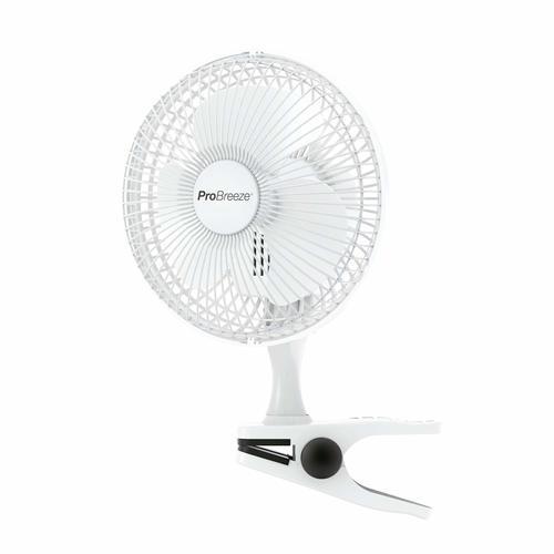 Ventilateur - Pro Breeze Mini Ventilateur à Pince – 2 Vitesses Pro