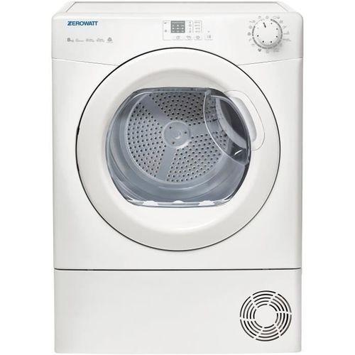Sèche-linge à condensation - Zerowatt ETD C8LG-S (Blanc)