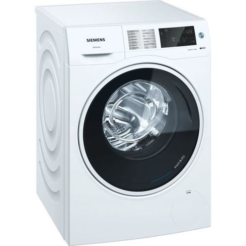 Lave-linge séchant - Siemens WD4HU560FF (Blanc)