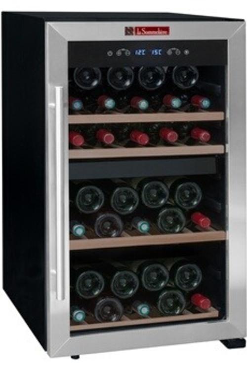 Cave à vin de service - La Sommeliere LS50.2Z (Noir)