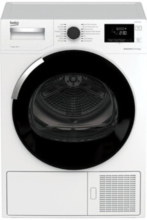 Sèche-linge à condensation - Beko DH10444PX1W (Blanc)
