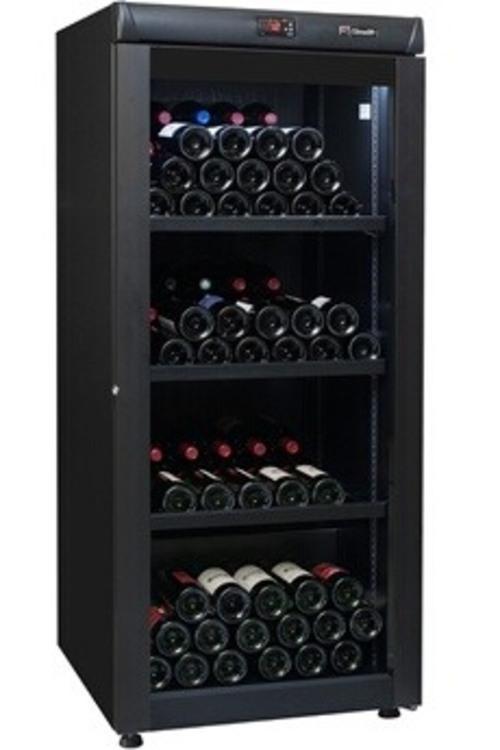 Cave à vin de vieillissement - Climadiff CVV168B (Noir)