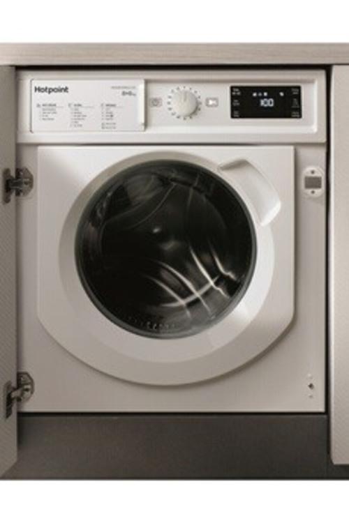 Lave-linge séchant - Hotpoint BIWDHG861484 (Blanc)